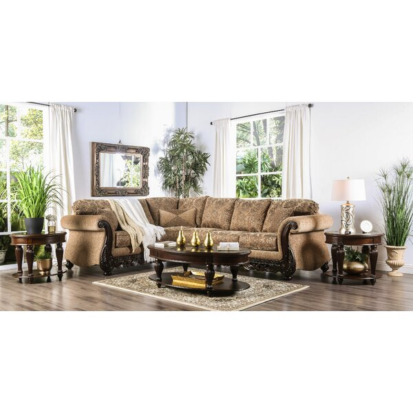 Riverside Drive Sectional by Astoria Grand