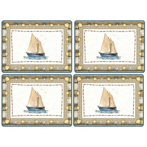 Coastal Breeze 16 Placemat (Set of 4) by Pimpernel