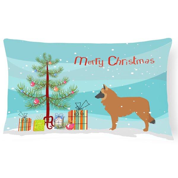 Belgian Shepherd Indoor/Outdoor Lumbar Pillow by The Holiday Aisle