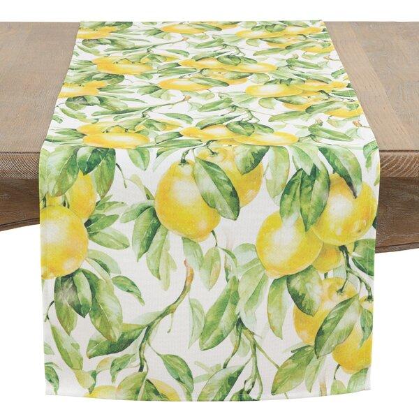 Schwabe Fresh Lemon Table Runner by August Grove