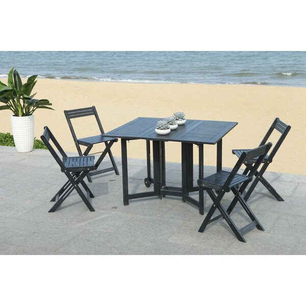 Brune 5 Piece Dining Set by Winston Porter