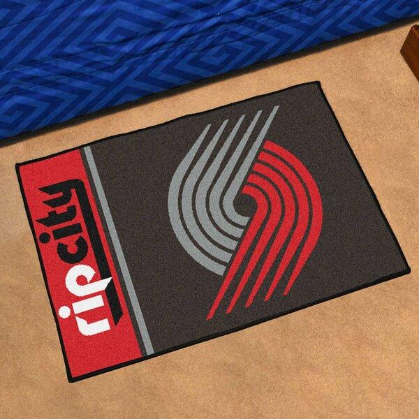 NBA Portland Trail Blazers Starter Mat by FANMATS