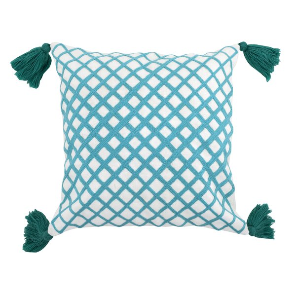 Schutte Embroidered Outdoor Throw Pillow
