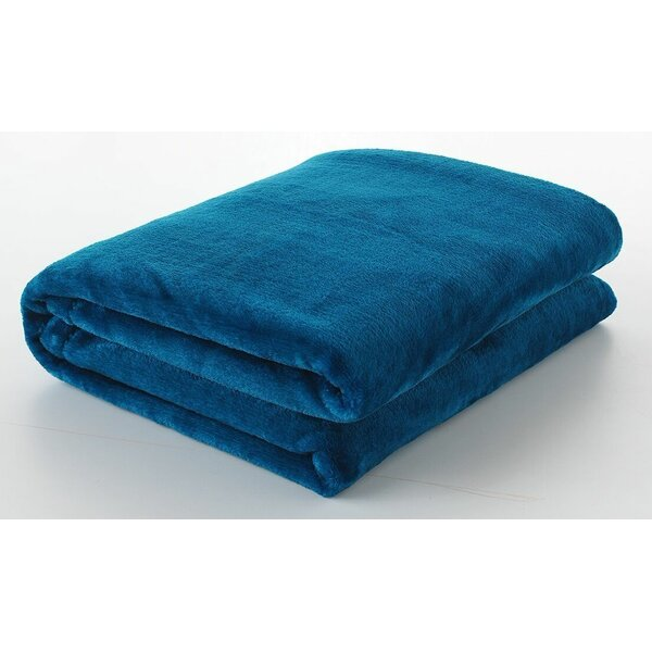 Silky Touch Velvet Plush Throw Blanket by Berrnour Home