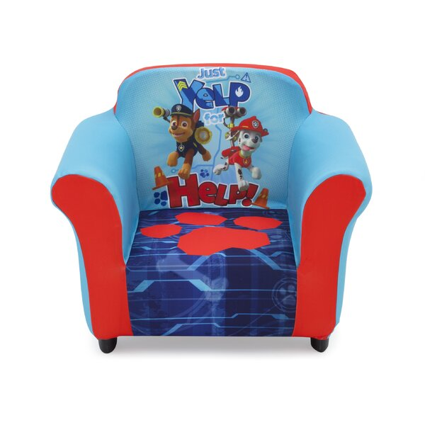 Nick Jr. PAW Patrol Kids Club Chair by Delta Children