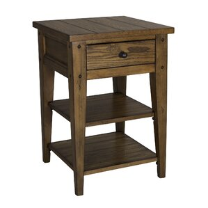 Menifee End Table With Storage by Loon Peak