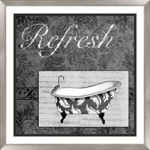Refresh Framed Graphic Art by PTM Images