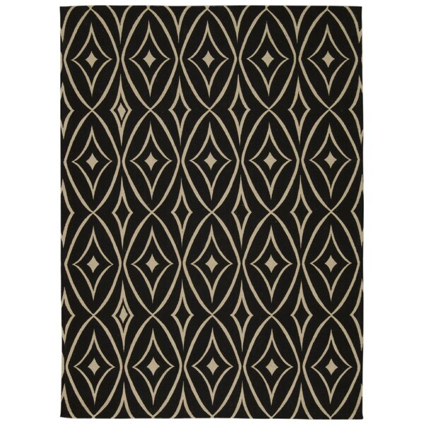 Color Motion Centro Black Area Rug by Waverly
