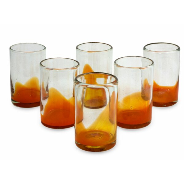 Ange Splash 13 oz. Insulated Tumbler (Set of 6) by Novica