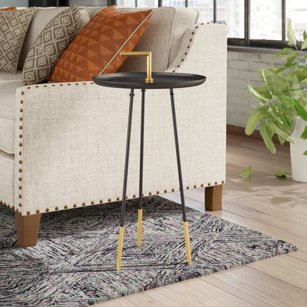 Kattan Handle End Table by Mercury Row