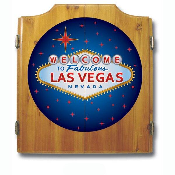 Las Vegas Dart Cabinet Set by Trademark Global