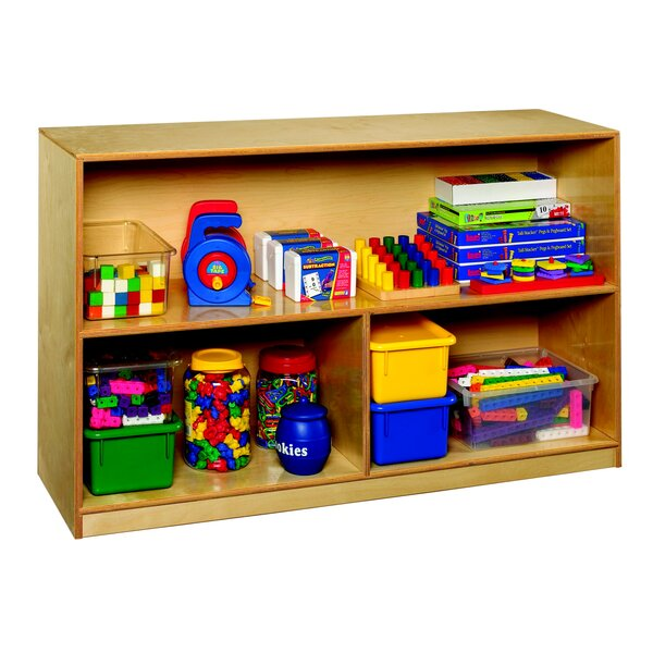 3 Compartment Shelving Unit with Casters by Childcraft