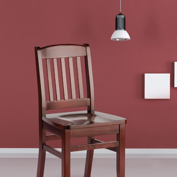 Bulldog Solid Wood Dining Chair by Holsag
