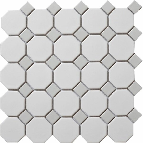 Cascade Random Sized Porcelain Mosaic Floor Use Tile