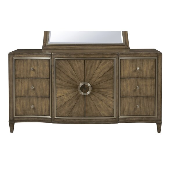 Sather 6 Drawer Combo Dresser by House of Hampton