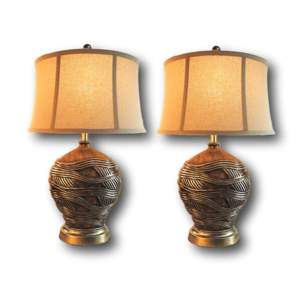 Nichol 28 Table Lamp Set (Set of 2) by Bloomsbury Market