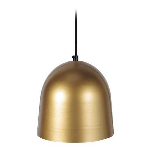 Kuppel Pendelleuchte 1 flammig Kobbe LoftDesigns Schirmfarbe: Gold| Größe: 90 cm H x 17 cm B x 17 cm T