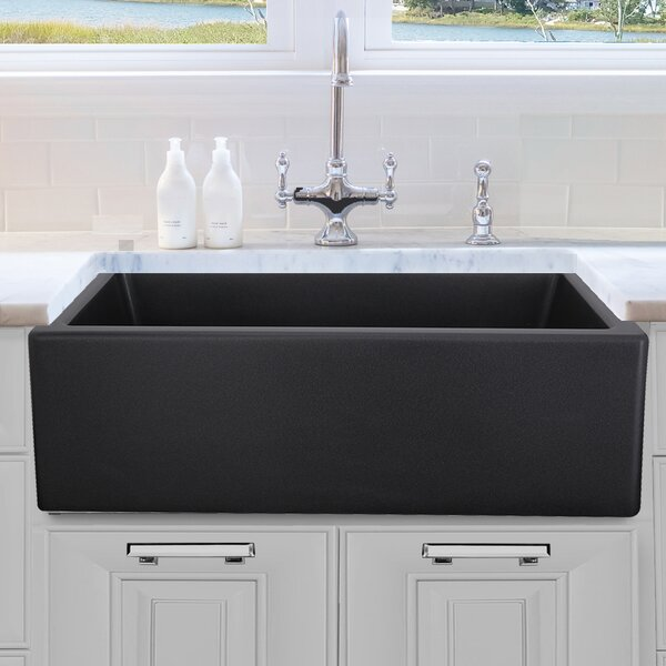 18 L x 30 W Farmhouse Kitchen Sink with Grid by Nantucket Sinks