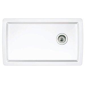 White Kitchen Sink Undermount undermount kitchen sinks you'll love   wayfair