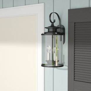 Best Reviews Evgenia 2-Light Outdoor Wall Lantern By 17 Stories