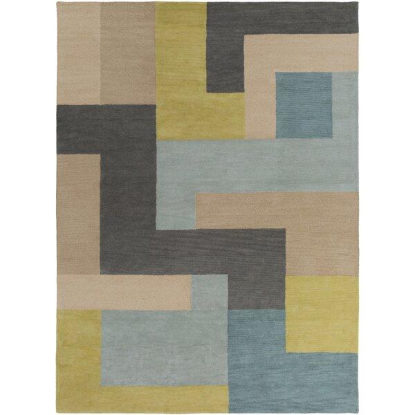 Sturbridge Midnight Green/Slate Gray Rug by George Oliver