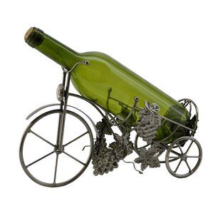 Tricycle 1 Bottle Tabletop Wine Rack by Three Star Im/Ex Inc.