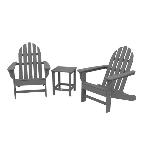 Polywood® Traditional 3 Piece Seating Group by Sol 72 Outdoor