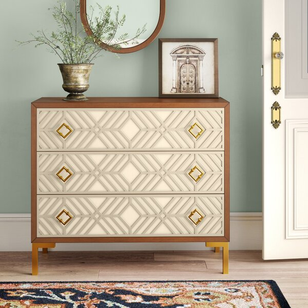 Lake Macquarie 3 Drawer Accent Chest by Mercer41 Mercer41
