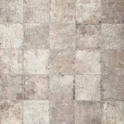 Chicago Brick 8 x 8 Porcelain Field Tile in White/Gray by Tesoro