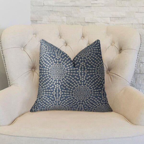 Bluebell Double Sided Throw Pillow by Plutus Brands