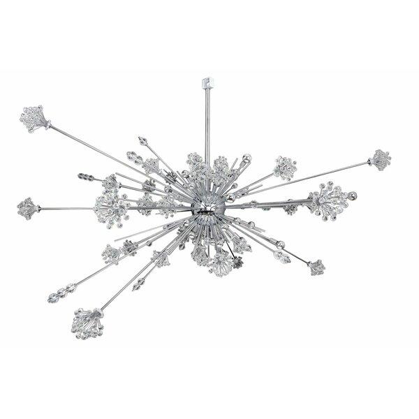 Martinez 46-Light Sputnik Sphere Chandelier by House of Hampton House of Hampton