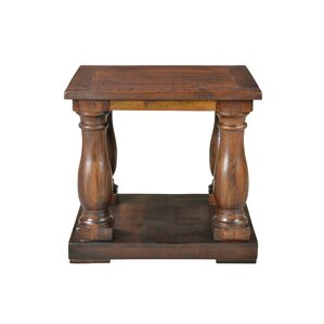 Brea Pedestal End Table by Longshore Tides