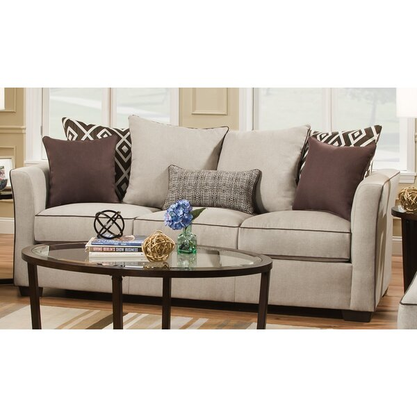 Lowest Price For Simmons Upholstery Woodbridge Sofa by Wrought Studio by Wrought Studio