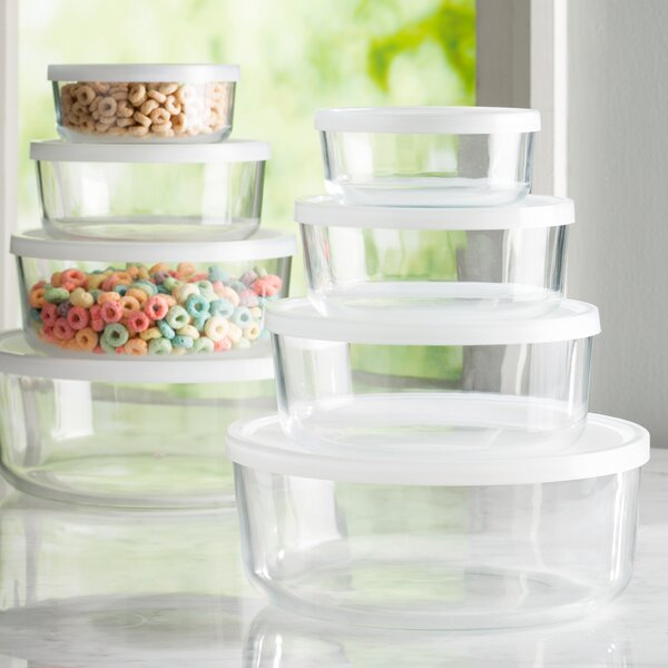 Hawthorn Round 4 Container Food Storage Set by Mint Pantry