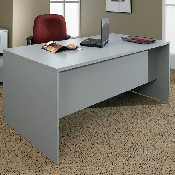 Genoa Double Pedestal Executive Desk by Global Total Office