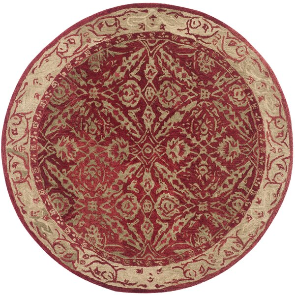 Anatolia Red/Ivory Area Rug by Safavieh