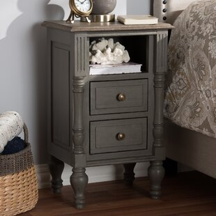 Baden 2 Drawer Nightstand by Ophelia & Co.