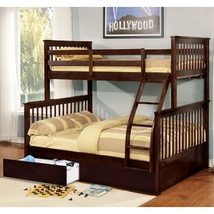 Online Reviews Aleta Twin Over Full Bunk Bed ByHarriet Bee