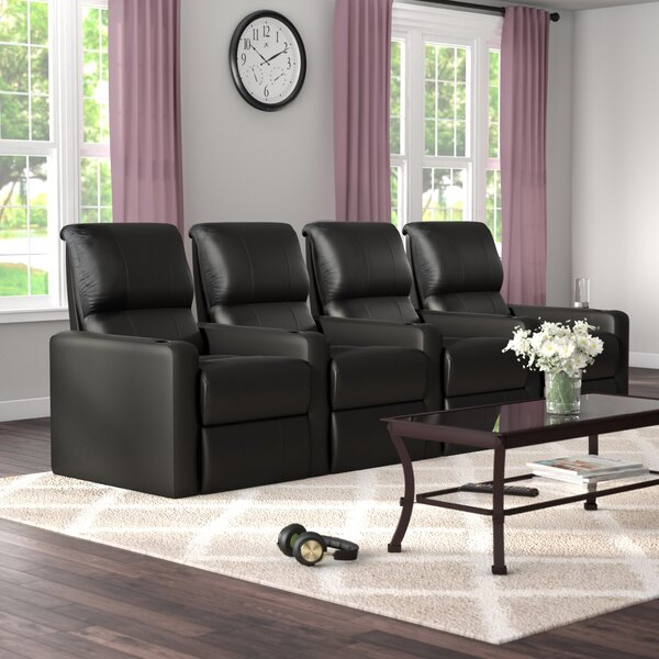Review Contemporary Home Theatre Lounger (Row Of 4)
