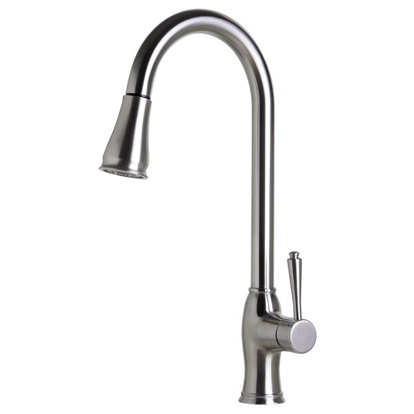 Pull Down Single Handle Kitchen Faucet by Alfi Brand Alfi Brand