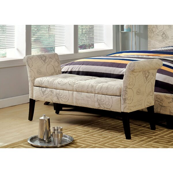 Columbus Upholstered Storage Bench by Ophelia & Co.