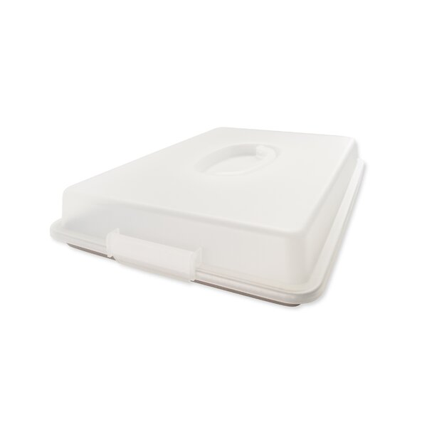 Non-Stick Half Sheet Pan with Lid by USA Pan