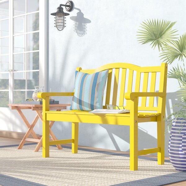 Ambler Wood Garden Bench by Beachcrest Home