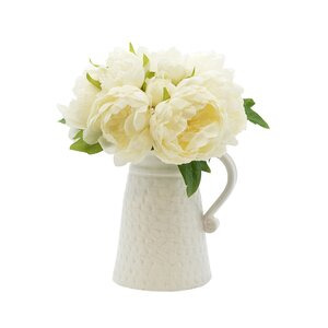 Peony in Decorative Vase