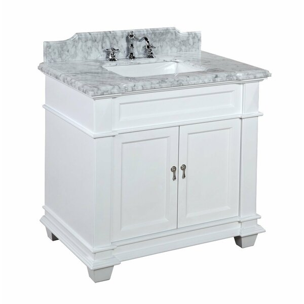 Elizabeth 36 Single Bathroom Vanity Set by Kitchen Bath Collection
