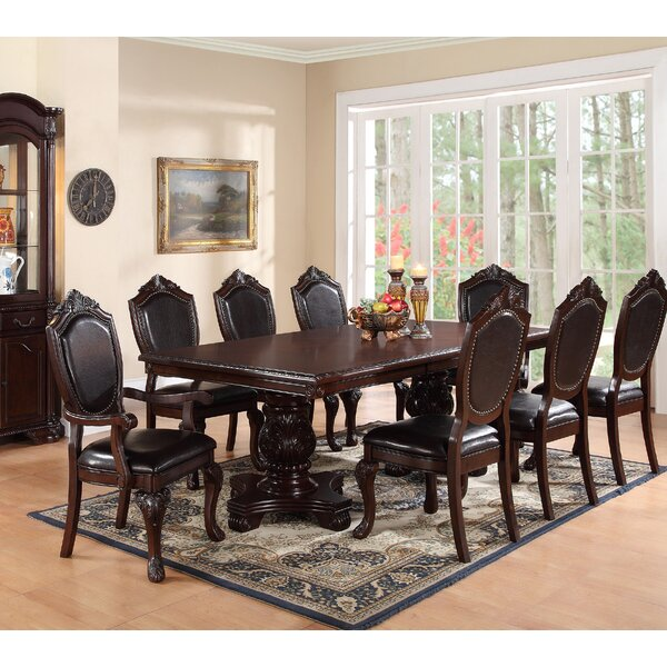 Sandin 9 Piece Dining Set by Astoria Grand