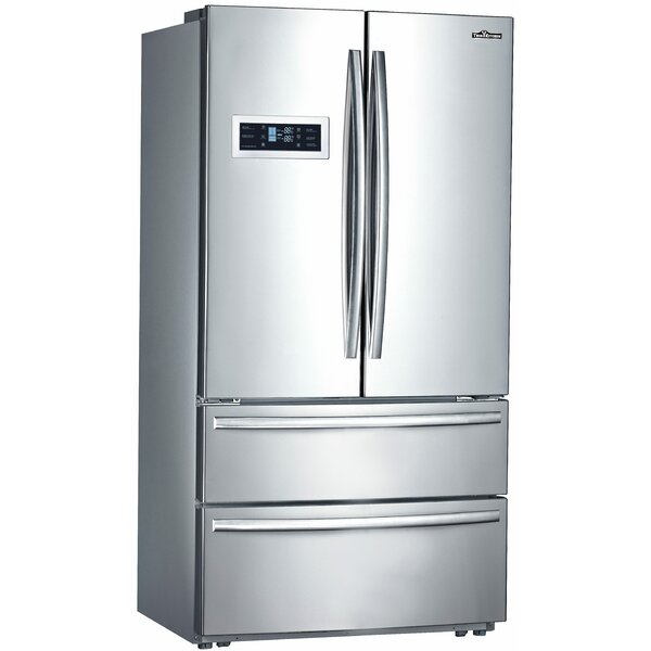 20.85 cu. ft. Counter-Depth French Door Refrigerator by Thor Kitchen