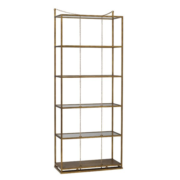 Kepler Singapore Sling Etagere Bookcase by Everly Quinn