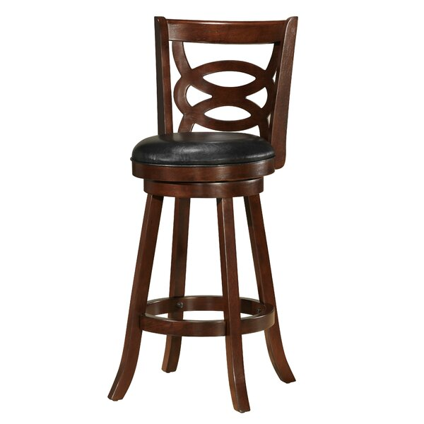 Karli 29 Swivel Bar Stool by Red Barrel Studio