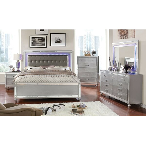 New Rothwell Standard Configurable Bedroom Set By Everly Quinn 2019 Sale